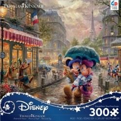Kinkade: Mickey and Minnie in Paris 300pc