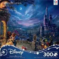 Kinkade: Beauty and the Beast Moonlight 300pc
