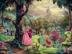 Kinkade: Disney Sleeping Beauty 1500pc