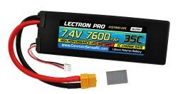 7.4V 7600mAh 35C w/XT60