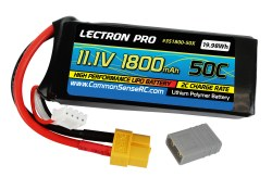 11.1V 1800mAh 50C Lipo Trx