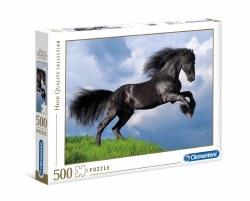 Fresian Black Horse - 500 pc
