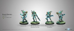Infinity: Kaauri Sentinels (Combi Rifle/ B. Shotgun)