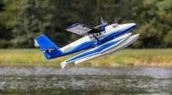 Twin Otter 1.2 BNF Basic with AS3X and SAFE, includes Floats