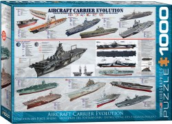 Aircraft Carrier Evolution - 1000pc
