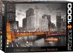 Chicago Michigan Avenue -1000pc