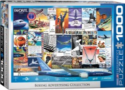 Boeing Advertising Collection - 1000pc