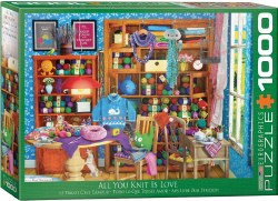 All you Knit is Love  - 1000pc
