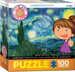 Starry Night for Kids - 100pc