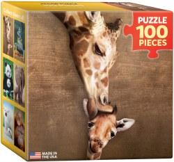 Giraffe Mother's Kiss 100pc