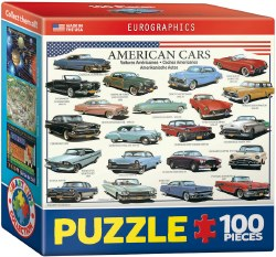 American Cars of the 50s 100pc