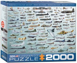 Evolution of Military Aircraft - 2000pc
