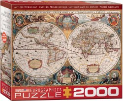 Orbis Geographica World Map - 2000pc