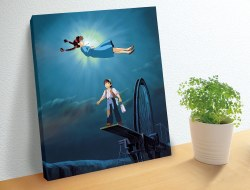 The Girl Who Fell From The Sky Artboard Puzzle- 366pc