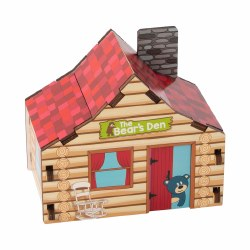 Build it Blueprint Cabin Puzzle