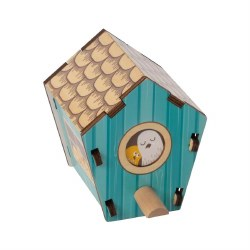 Build it Blueprint Birdhouse Puzzle