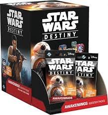 Star Wars Destiny Awakenings Sealed Booster Box Display