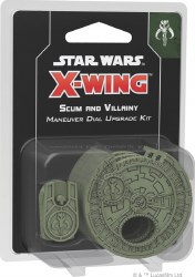 X-Wing 2: Scum Maneuver Dial