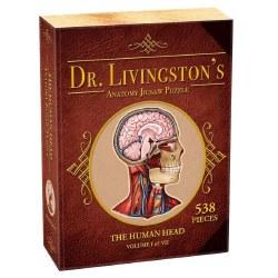 Shaped: Dr. Livingston: Human Head - 538pc