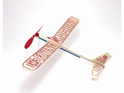 Flying Machine Rubber Band Balsa Glider