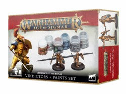 Age of Sigmar: Stormcast Eternals:  Vindictors & Paint Set