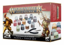 Age of Sigmar: Paints and Tools Set