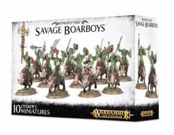 Age of Sigmar: Savage Boarboys