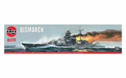 1/600 Bismark German Battleship Plastic Model Kit