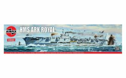 1/600 HMS Ark Royal Aircraft Carrier Plastic Model Kit
