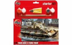 1/76 PZKW VI Ausf.B King Tiger Tank Starter Set