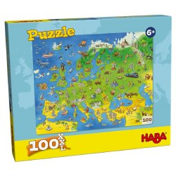 Europe Map 100pc
