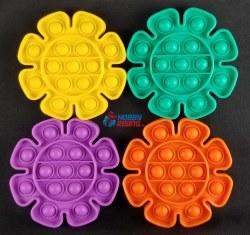 Bubble Pop It Fidget - Flower