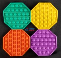 Bubble Pop It Fidget - Octagon