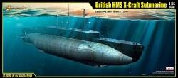 1/35 British HMS X-Craft Sub