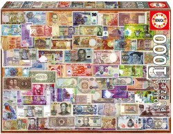 1000 World Banknotes 1000pc Puzzle