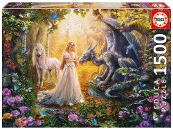 Dragon, Princess, and Unicorn - 1500pc