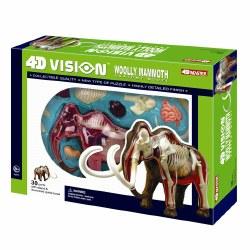 4D Woolly Mammoth Anatomy