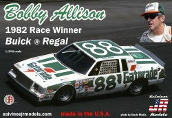 1/24 Bobby Allison's 1982 Buick Regal Winner
