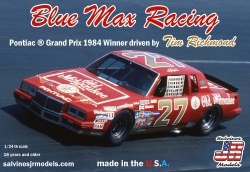 1/24 Blue Max Racing 1984 Pontiac Grand Prix Winner