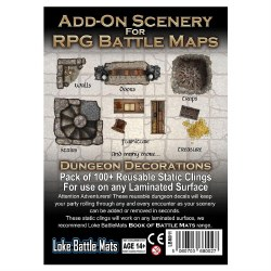 Add-On Scenery for RPG Battle Maps: Dungeon Decorations