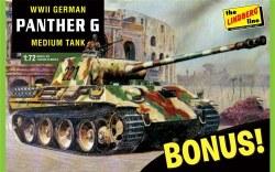 1/72 German Panther G Medium Tank Bonus Pack Plastic Model Kit