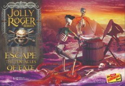 1/12 Jolly Roger Series: Escape the Tentacles of Fate Plastic Model Kit
