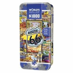 World's Smallest 1000 piece Puzzle: Route 66