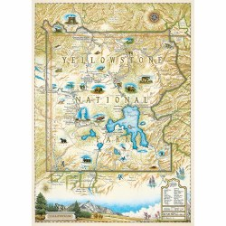 Yellowstone Map 1000pc