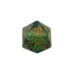 35mm D20 Green w/ Gold