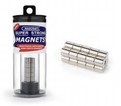 "1/4""x1/4"" Rar Rod Magnets (20)"