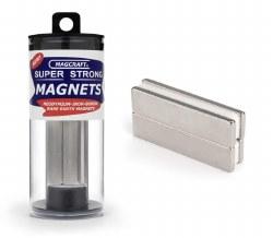 "2x1/2x1/8"" Block Magnet (4)"