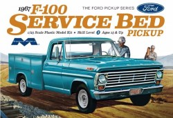 1/25 1967 Ford F-100 Service Bed Pickup Plastic Model Kit