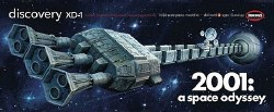 1/350 2001: A Space Odyssey Discovery XD-1 Plastic Model Kit