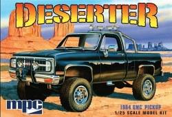 1/25 1984 GMC Deserter Pickup (molded in Black) Plastic Model Kit